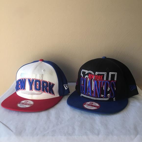 NEW ERA 9FIFTY NFL NY Giants SnapBack Hats Bundle.  M 5a8f3b423afbbdc63463d67b 2734c7526791